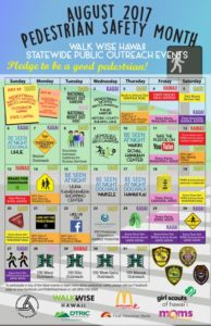 Pedestrian Safety Month